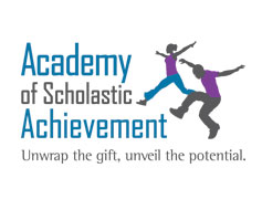 Academy of Scholastic Achievement corporate identity and website by Circle Imagine